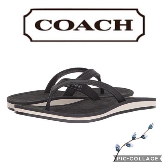 coach flip flops sale